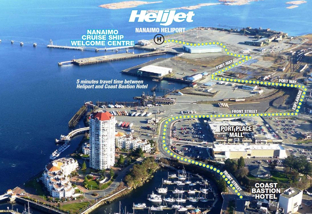 Helijet Nanaimo - Vancouver Flights - Helijet.com on thunder bay, red deer, prince george, vancouver island, nanaimo bar,