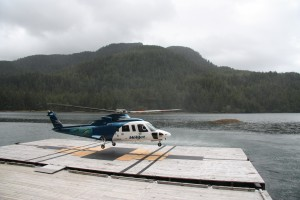 Helijet Lands At Hippa Resort